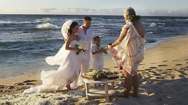 Vjenčanje na plaži Megan Fox i Brian Austin Green